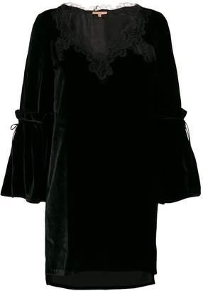 Ermanno Scervino lace detail dress