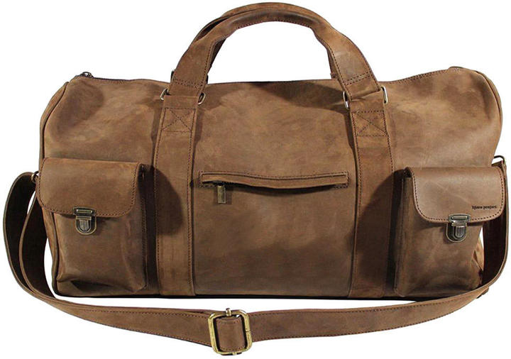 Kj re Project Travel Leather Bag