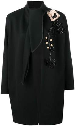 Antonio Marras floral embellished coat