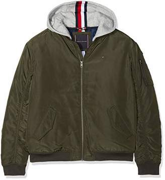9f176f8b Tommy Hilfiger Boy's Essential Hooded Bomber Jacket,(Manufacturer Size: ...