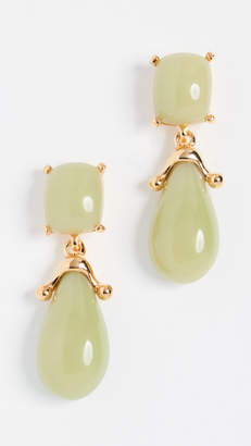 Kenneth Jay Lane Square Top Post Earrings