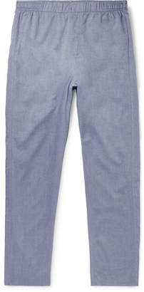 Hamilton and Hare Cotton And Cashmere-Blend Pyjama Trousers