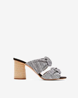 Express Dolce Vita Printed Jene Heeled Sandals