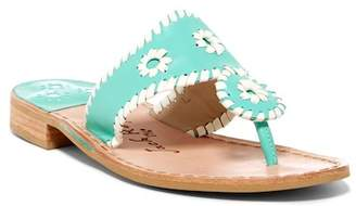 Jack Rogers Whipstitched Thong Sandal