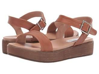 86467fc7e506 Cognac Leather Platform Steve Madden Shoes - ShopStyle