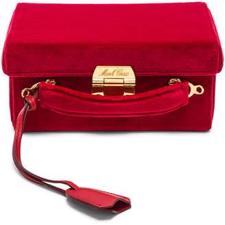 Mark Cross Small Velvet Grace Box Bag