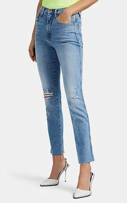Frame Women's Le Sylvie Distressed Jeans - Blue