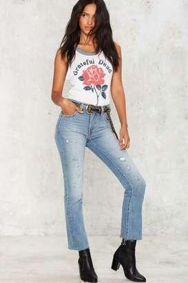 Levi's Levi's Kick Flare Denim Jeans $148 thestylecure.com