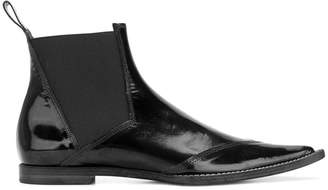 Haider Ackermann pointed toe booties