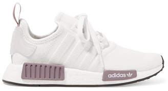 adidas Nmd_r1 Rubber-trimmed Primeknit Sneakers - White