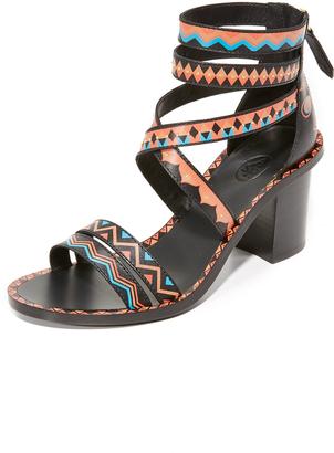 Ash Papaya Sandals $265 thestylecure.com