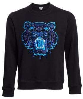 Kenzo Embroidered Tiger Crewneck Sweatshirt