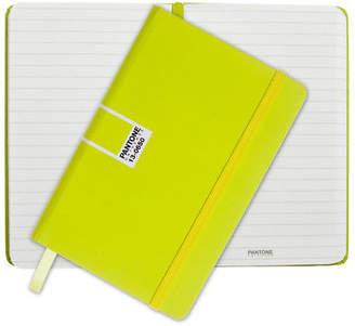 Pantone NEW Sulphur Spring Pocket Ruled Elastic Band Notebook