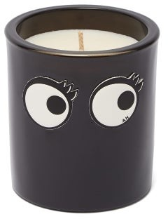 Anya Smells Lollipop Small Scented Candle - Black Multi