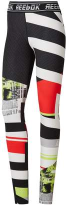 Reebok Popsugar Women's Workout Ready MYT Engineered Leggings