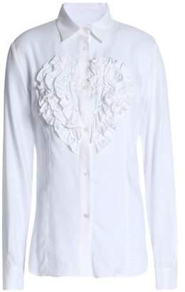 Love Moschino Ruffled Twill Shirt