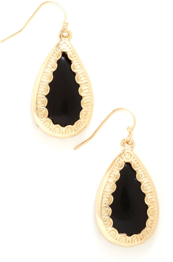 RSVPerfect Earrings in Black