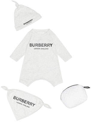Burberry Maemae 3-Piece Layette Set, Size 1-9 Months