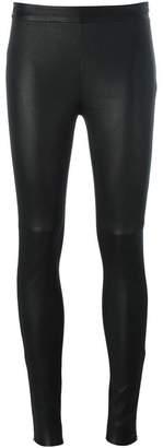 Philipp Plein wax effect leggings