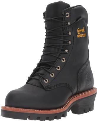 "Chippewa Boots Men's 25410 9"" Waterproof Steel-Toe Super Logger Boot"