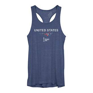 Fifth Sun Junior's Officially Licensed FIFA United States Fashion Mesh Tank Top