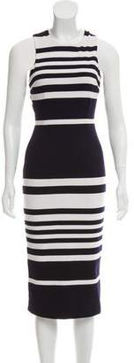 Nicholas Positano Striped Dress w/ Tags