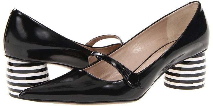 Marc Jacobs MJ20584 (New Air Shade Calf/Black/Black/White) - Footwear