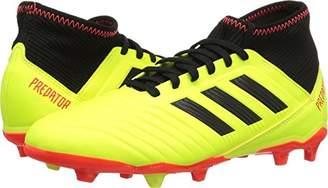 adidas Unisex Predator 18.3 FG J Running Shoe Yellow/core Black/Solar red
