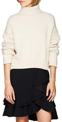 Proenza Schouler Women's Cotton-Blend Turtleneck Sweater - Cream