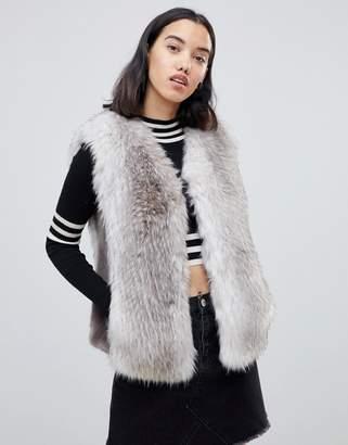 Urban Code Urbancode Jaycee faux fur luxury vest