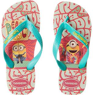 Havaianas Kids Minions Flip Flop (Toddler/Little Kid/Big Kid)