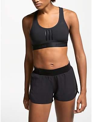 adidas Don't Rest Alpha Skin Tech Sports Bra, Black