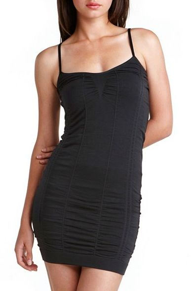 Charlotte Russe Ruched Body Shaper Dress