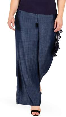 Olga Standards & Practices Wide Leg Denim Pants