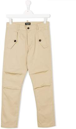 DSQUARED2 flap pocket trousers
