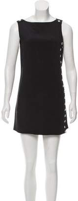 Azzaro Silk Mini Dress