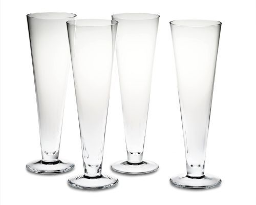 Williams Pilsner Glasses, Set of 4