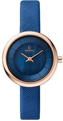 Obaku V146LXVLRA Women's Dial Classic Analog Watch with 2 Hands