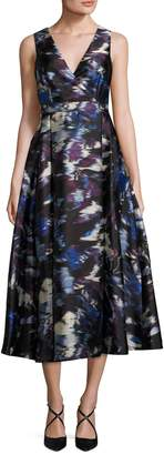 LK Bennett L.K.Bennett Women's Loena Blurry River A Line Dress