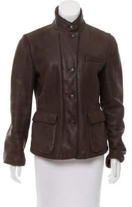 Loro Piana Shearling Short Coat