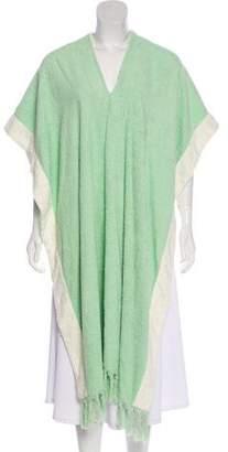 Lisa Marie Fernandez Terry Cloth V-neck Loungewear