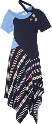 Monse Deconstructed Jersey Tee Dress