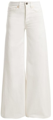 Raey - Loon Wide Leg Jeans - Womens - White