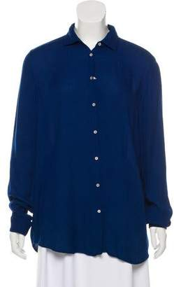 Massimo Alba Long Sleeve Button-Up Top w/ Tags