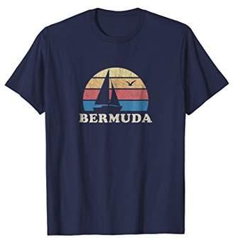 Bermuda T-Shirt Vintage Sailboat 70s Throwback Sunset Tee