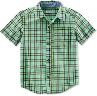 Carter's Plaid Cotton Shirt, Little Boys