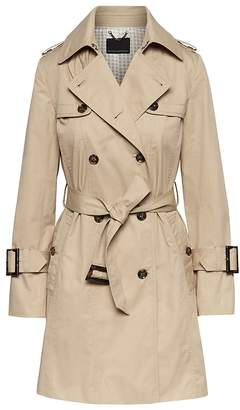 Banana Republic Petite Water-Resistant Classic Trench Coat