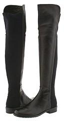 Stuart Weitzman - 50/50 (Black Nappa) - Footwear