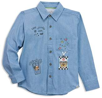 Sovereign Code x Nickelodeon Boys' PAW Patrol© Patch Printed Chambray Shirt, Little Kid - 100% Exclusive