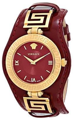 Versace Women's VLA030014 V-SIGNATURE Analog Display Swiss Quartz Watch